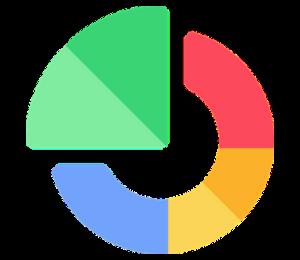 adatfeldolgozás chartkészítés netpanel ikon