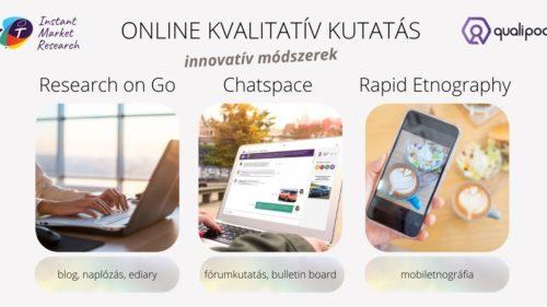 online kutatás kvalitatív innovatív módszerek IMR szoftver grafika